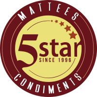 Mattees Five Star Condiments